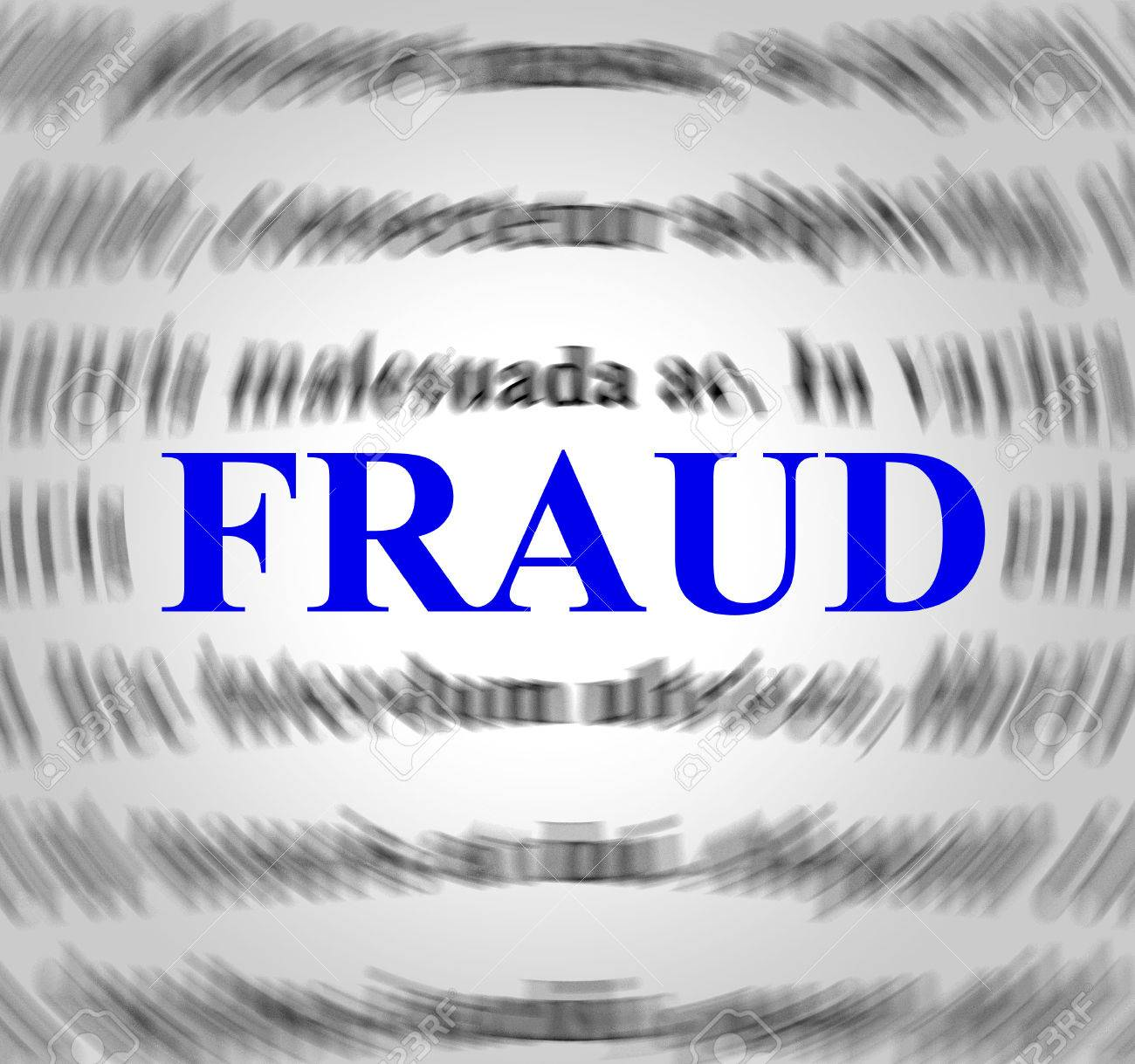 Fraud Definition Representing Hustle Deceit And Meant Stock Photo   33352040