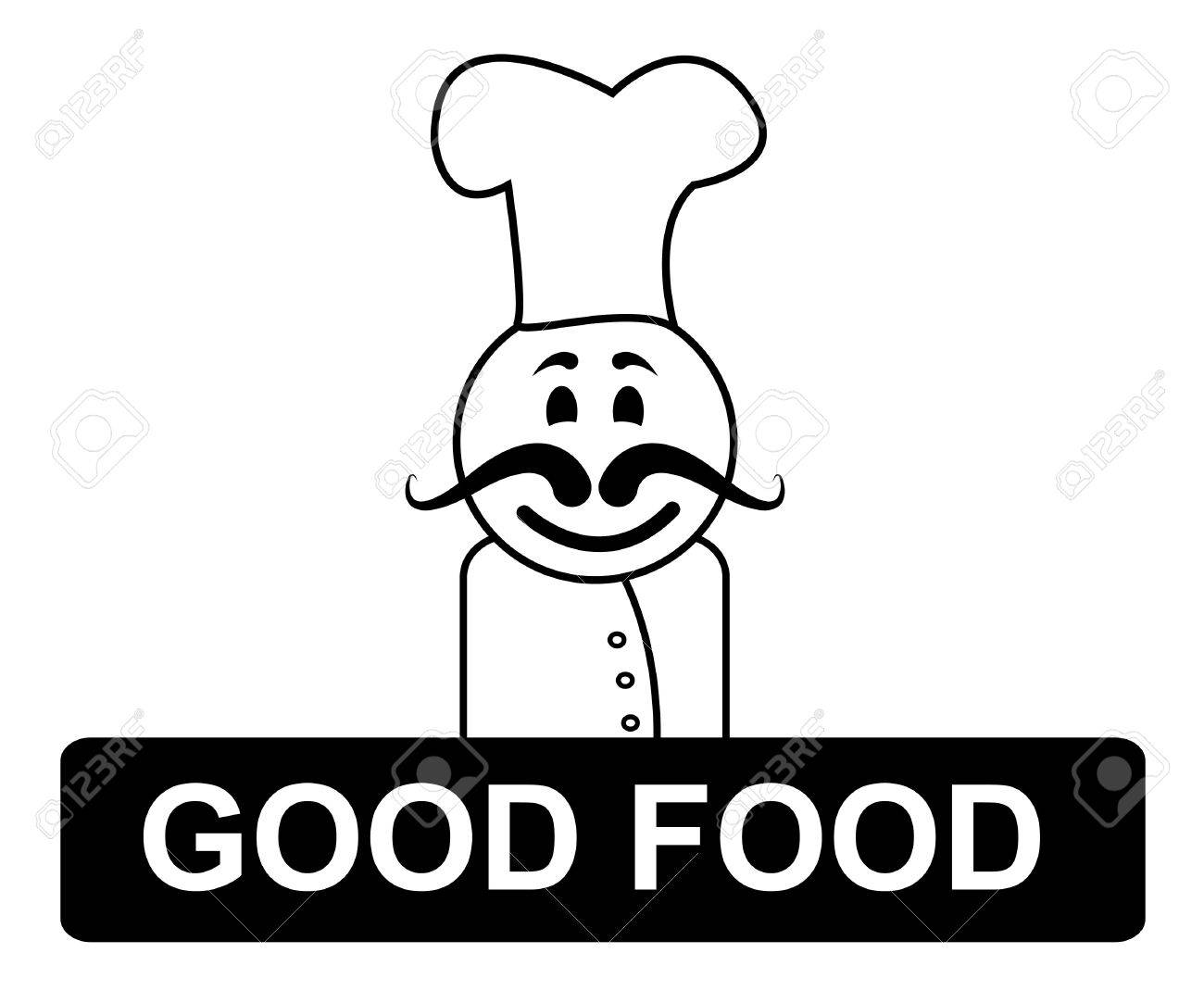 Good food chef meaning cooking in kitchen and recipes stock photo good food chef meaning cooking in kitchen and recipes stock photo 33352453 forumfinder Choice Image