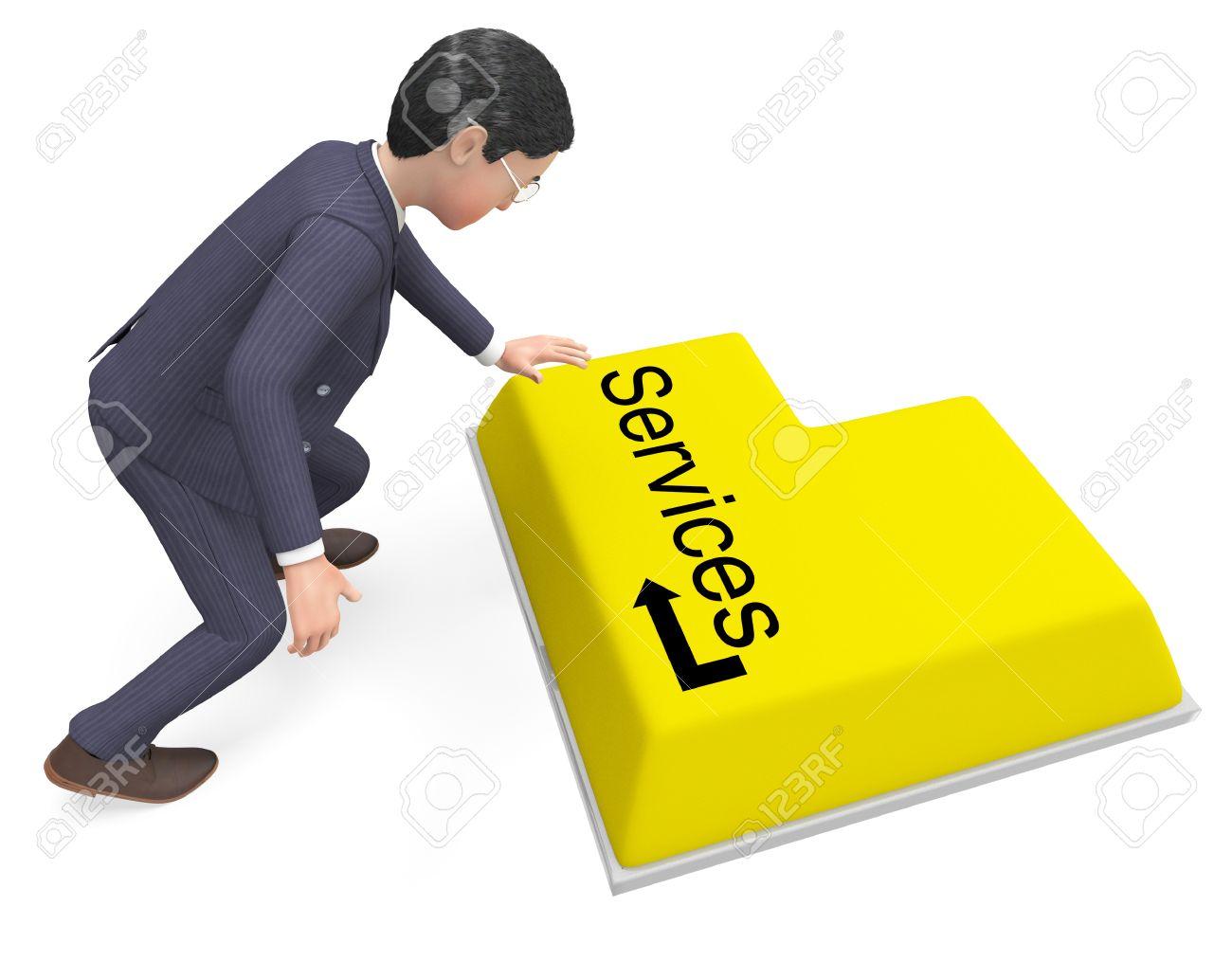 Empresario Seleccion Servicios Significado Help Desk Y Corporacion