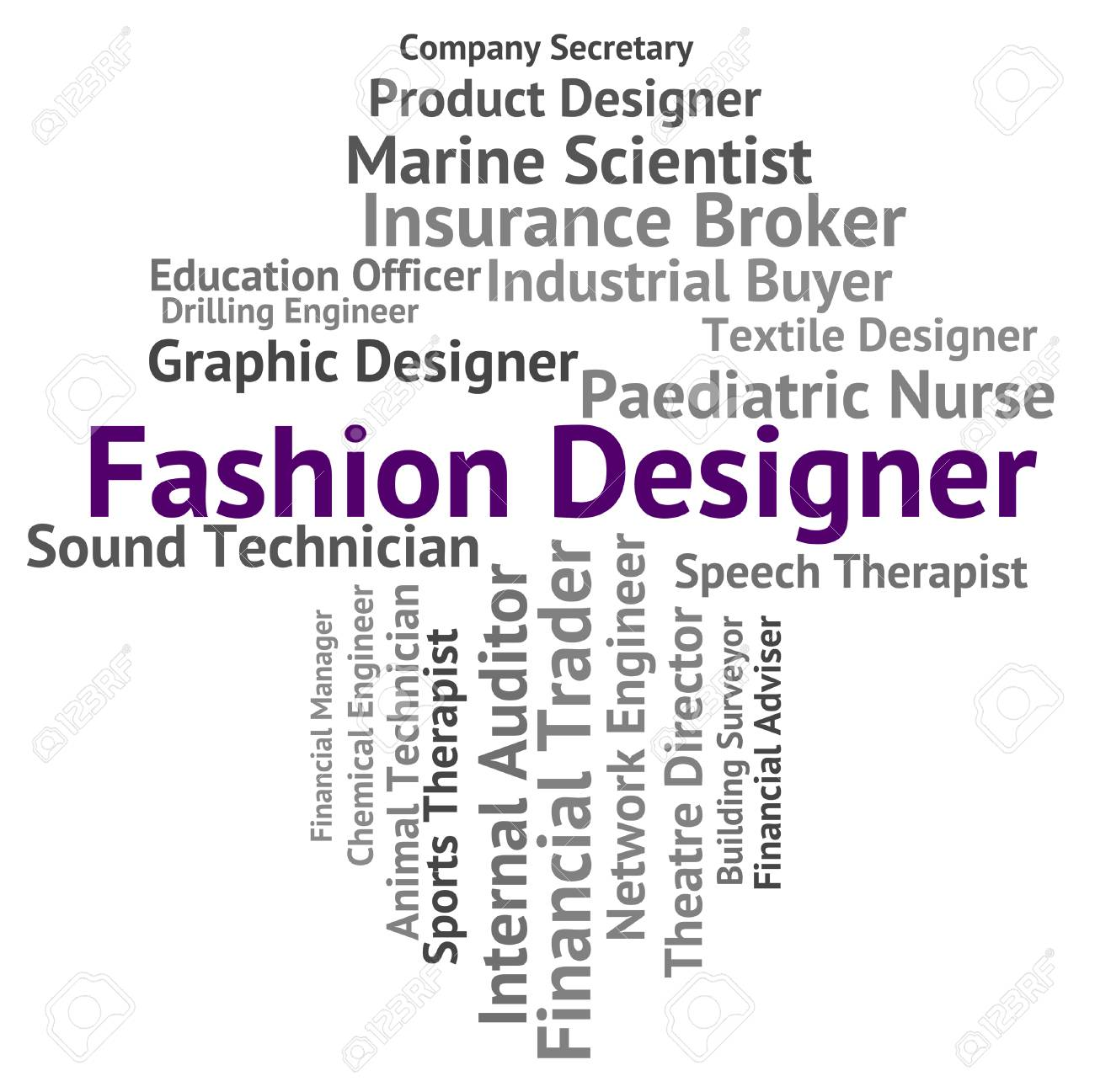 Fashion Designer Indicating Word Recruitment And Employee Stock Photo Picture And Royalty Free Image Image 43384333
