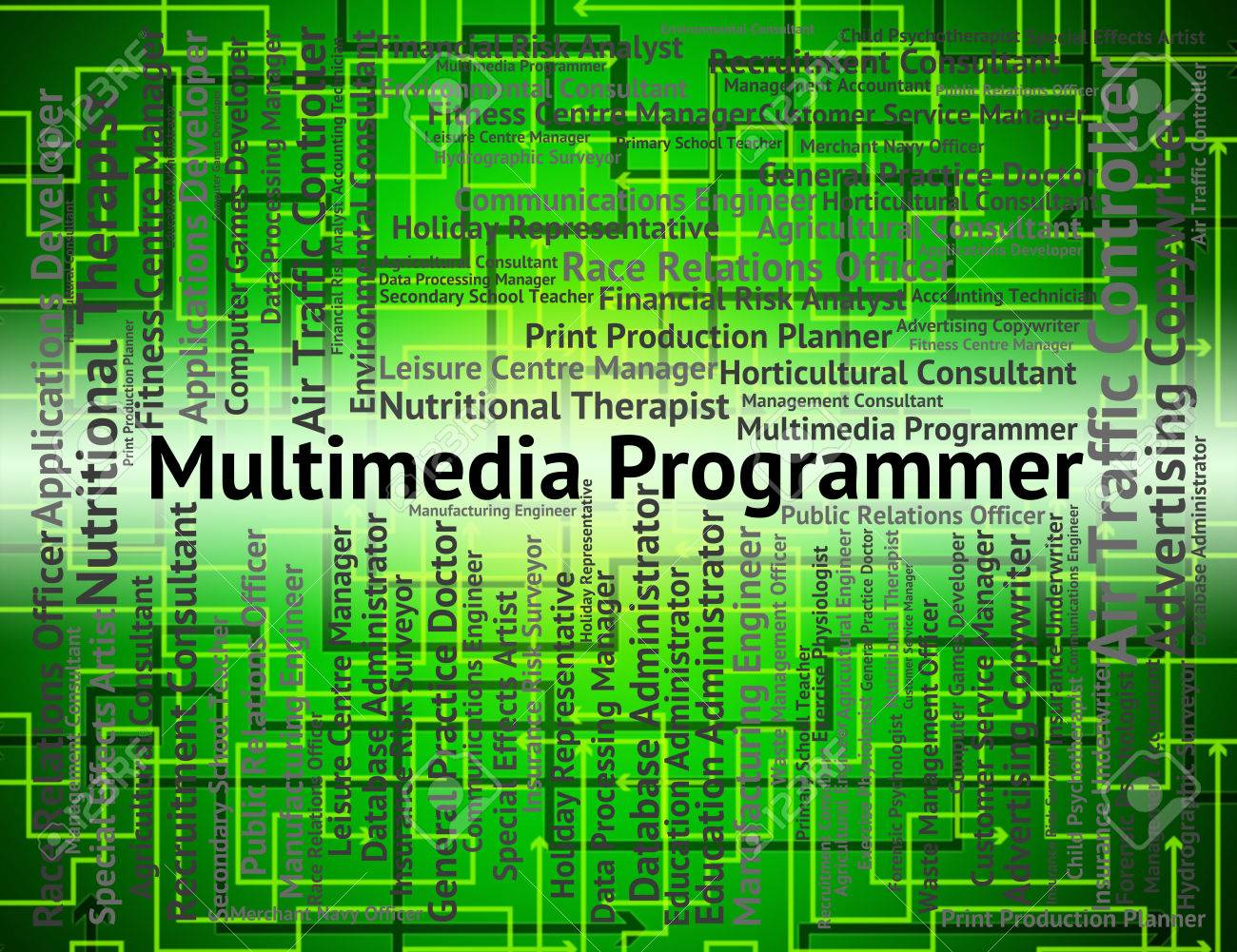 Multimedia Programmer Meaning Software Engineer And Jobs