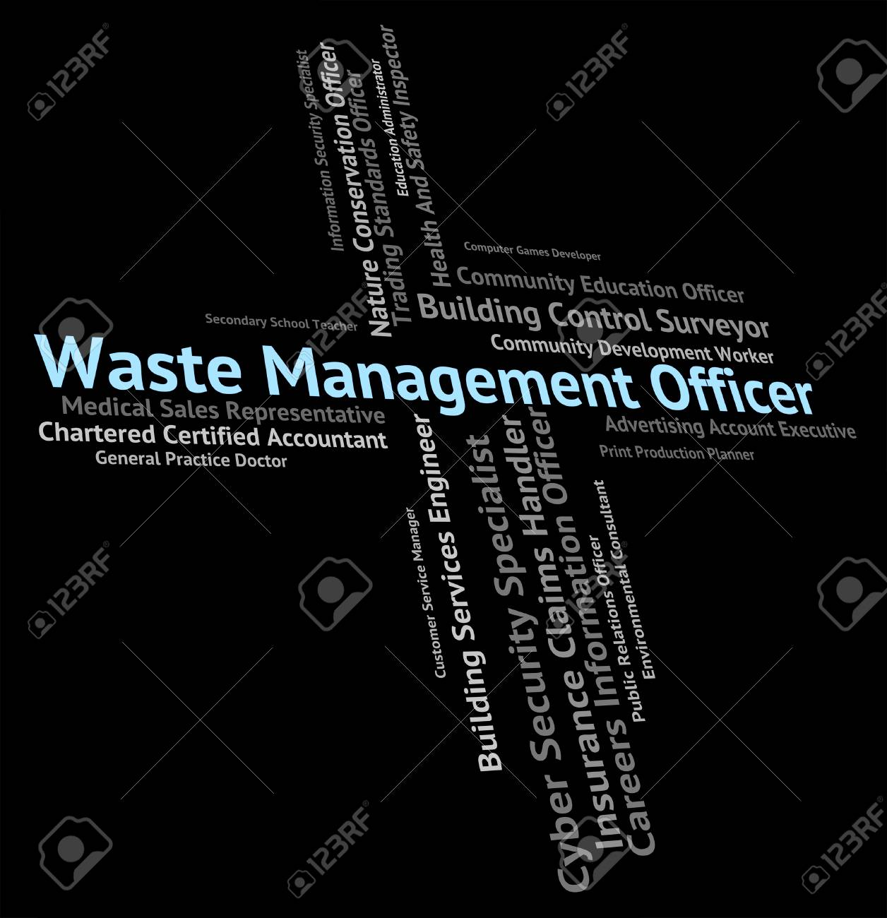 Waste Management Officer Meaning Get Rid And Processing