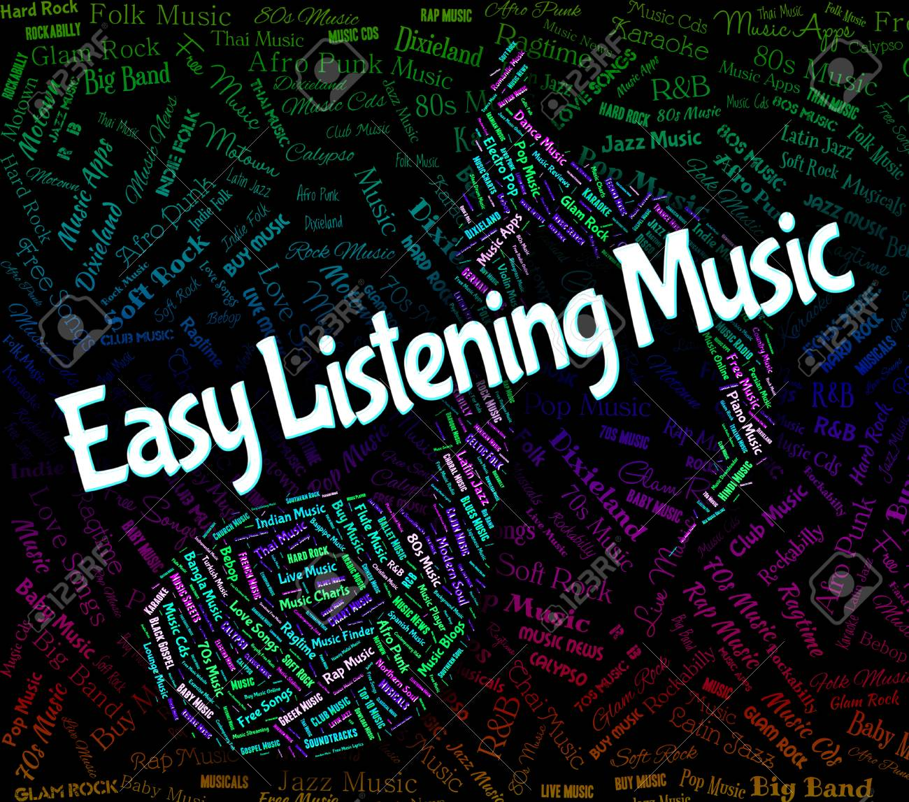 Easy Listening Music Representing Orchestral Pop And Melody