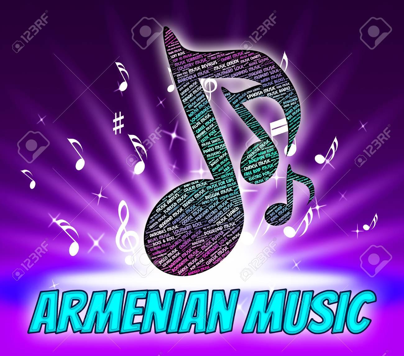 Armenian Music Showing Djivan Gasparyan And Track