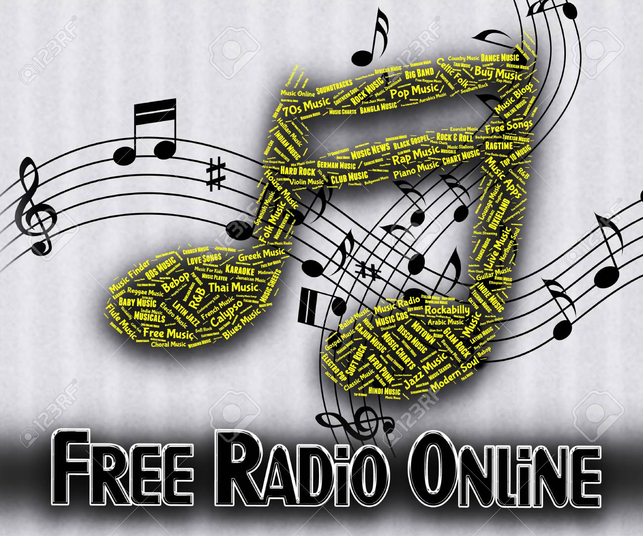 Free Radio Online Meaning No Charge And Network