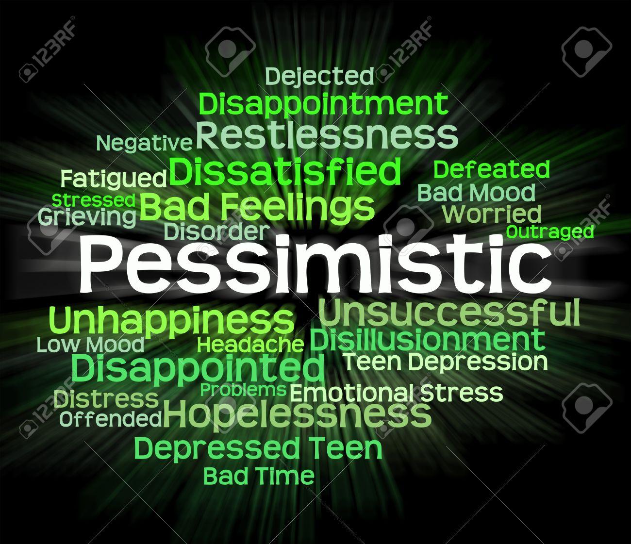 悲観的な言葉意味宿命論的言葉と...