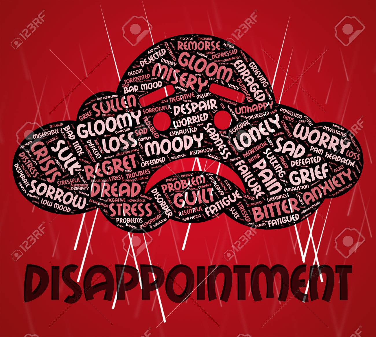 Disappointment Word Meaning Cast Down And Disillusioned
