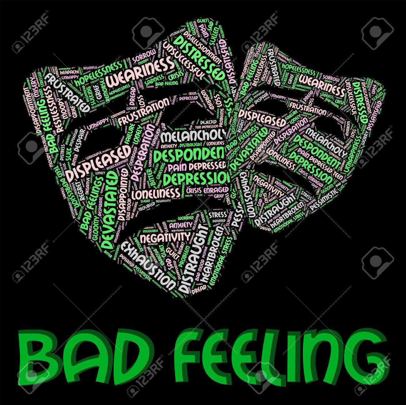 気持ち悪い言葉の対立を意味と感情 の写真素材・画像素材 Image 46108135.