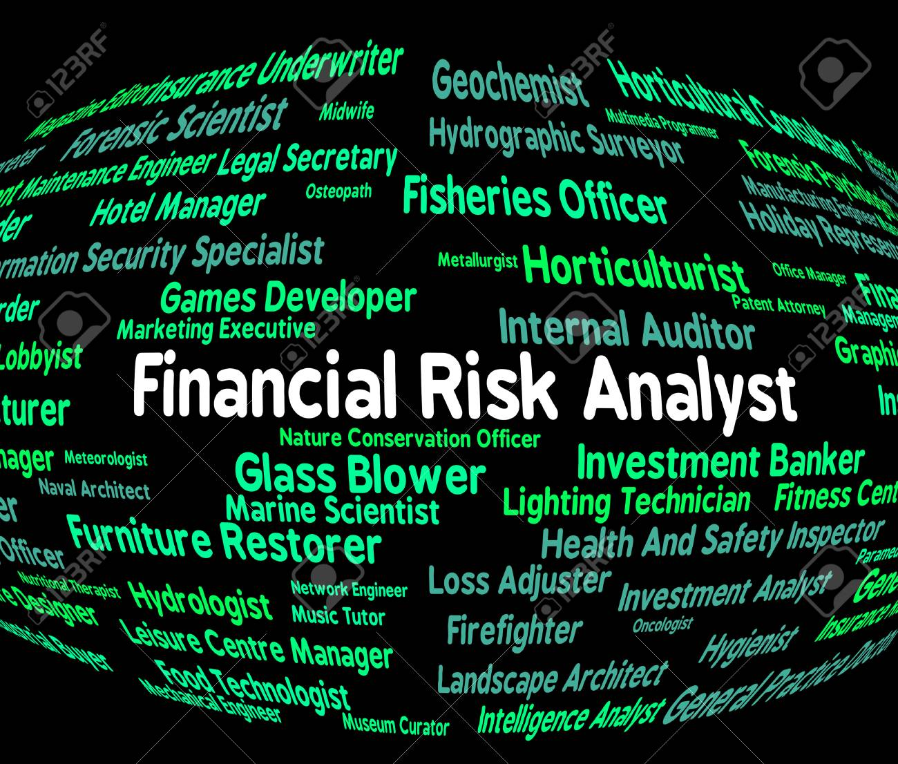 financial risk analyst representing unsteady insecure and analyze stock photo 46511139