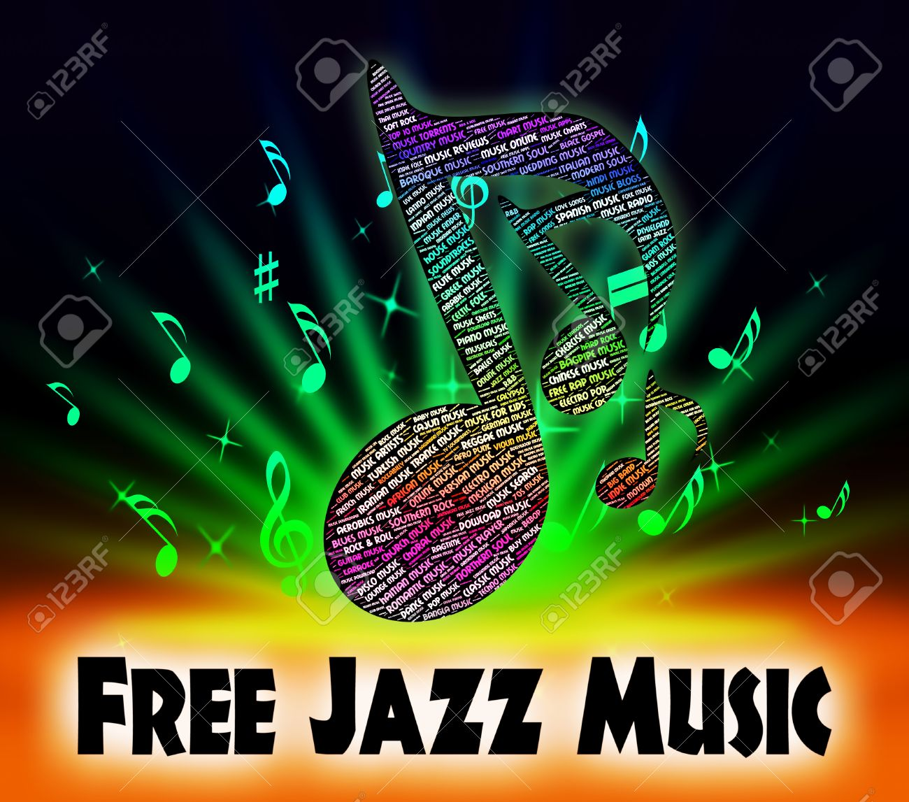 Free Jazz Music Meaning Sound Tracks And Melodies