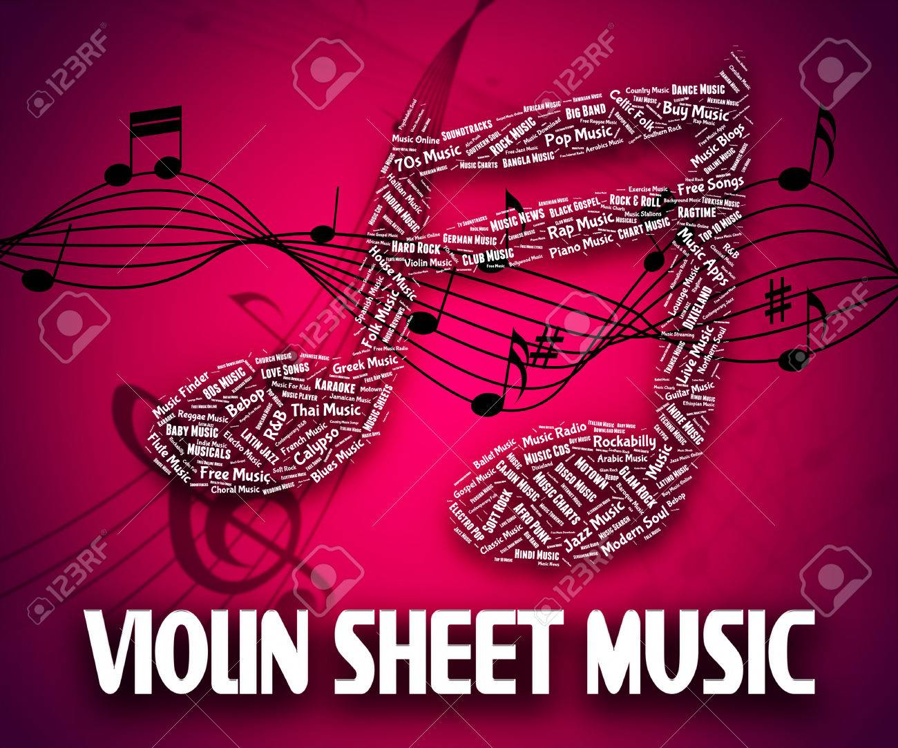 Violin Sheet Music Meaning Sound Track And Soundtrack