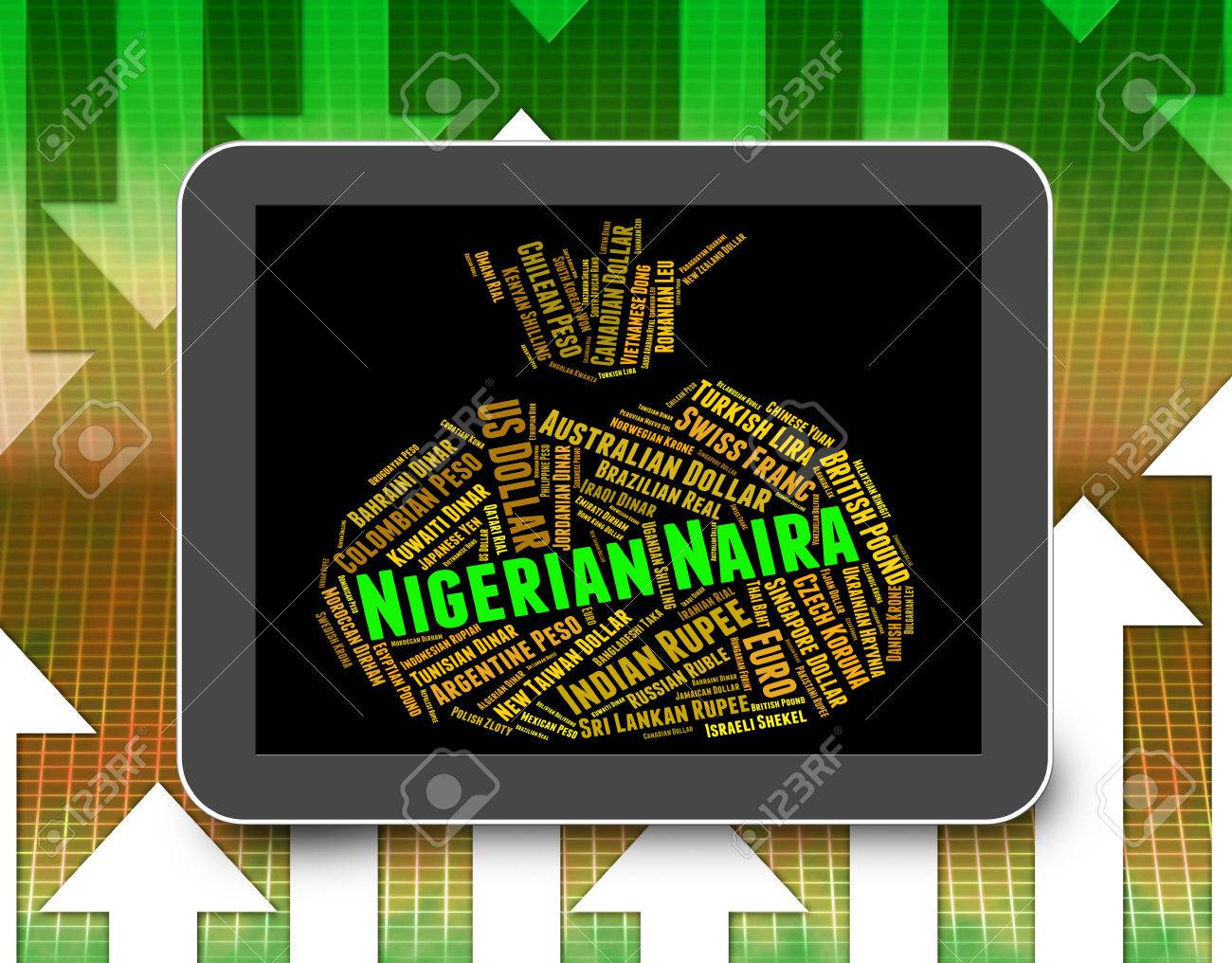 Nigerian naira representing currency exchange and word stock photo nigerian naira representing currency exchange and word stock photo 57211675 biocorpaavc