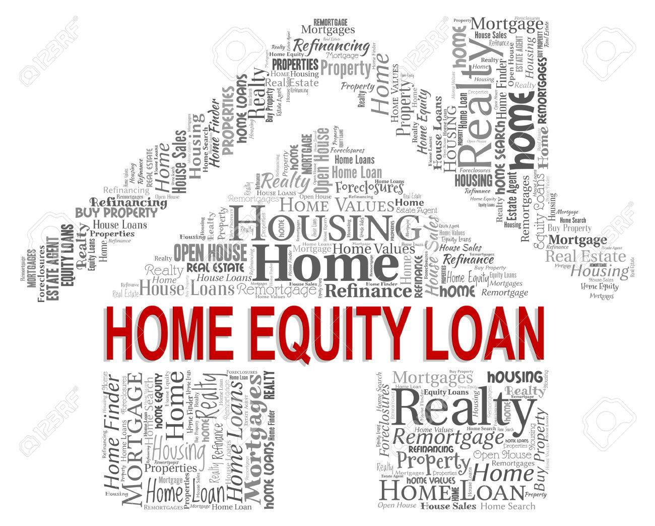 Home Equity Loan Meaning Residence Properties And Borrows Stock ...