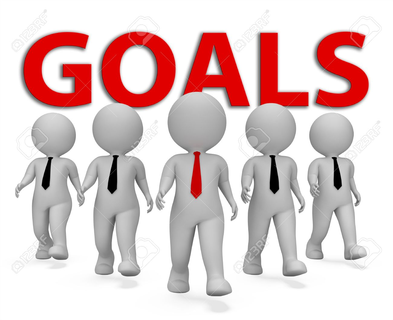 goals businessmen meaning aims wishes and aspirations d rendering goals businessmen meaning aims wishes and aspirations 3d rendering stock photo 61306728