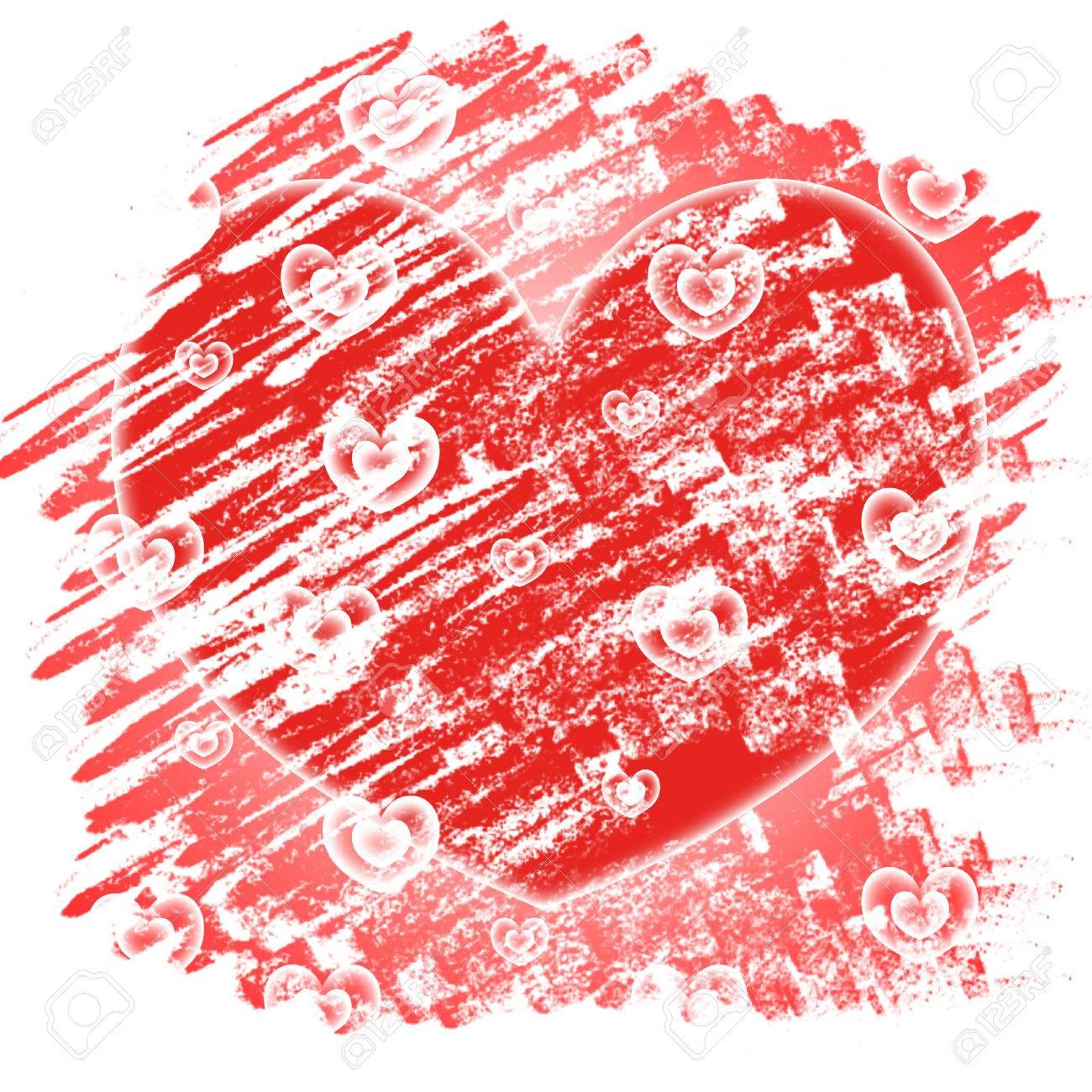 Fondo De Los Corazones Significado Día De San Valentín Y Telones De