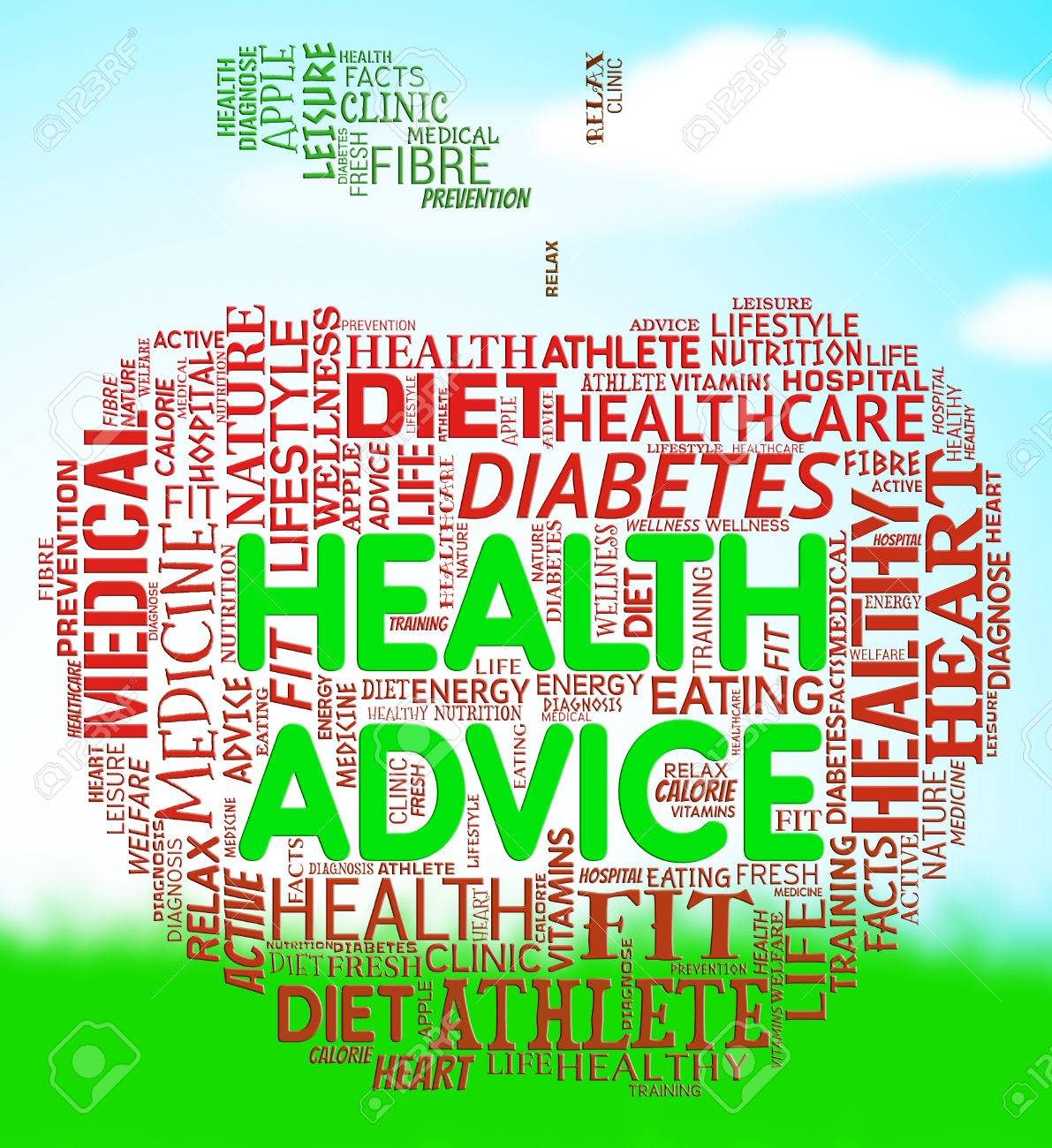 Worksheets Advice Meaning health advice meaning wellbeing guidance and advisory stock photo 63921540