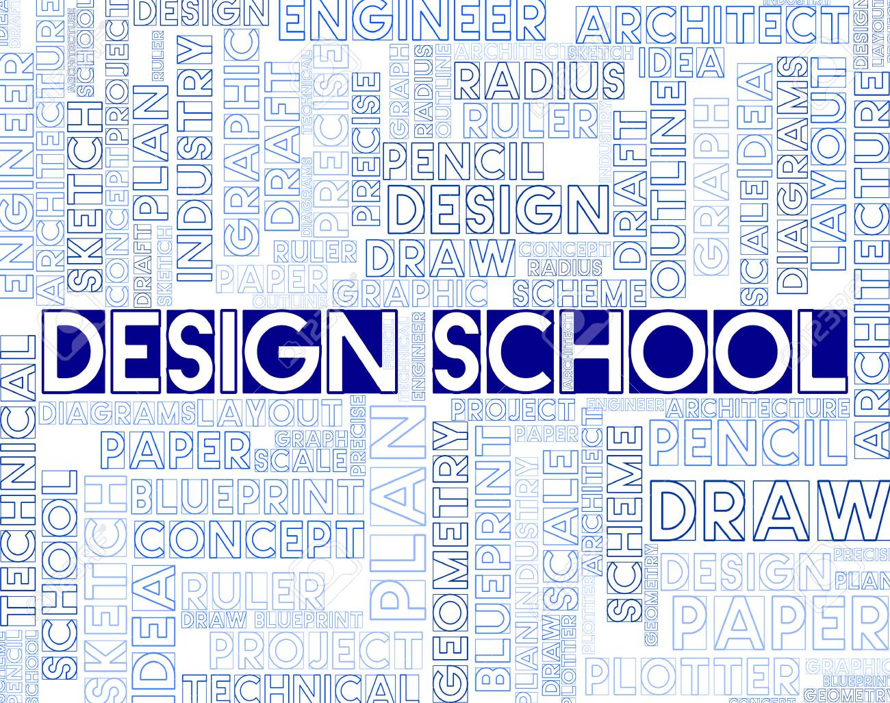 Design school meaning artwork studying and college stock photo design school meaning artwork studying and college stock photo 61996267 malvernweather Choice Image
