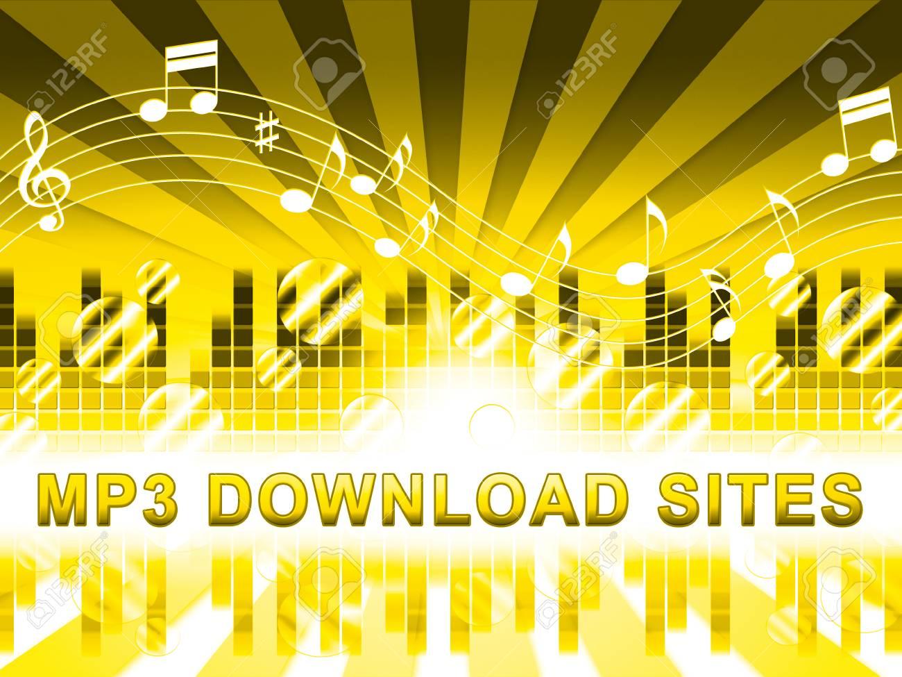 Mp3 Download Sites Design Means Music Downloads Website