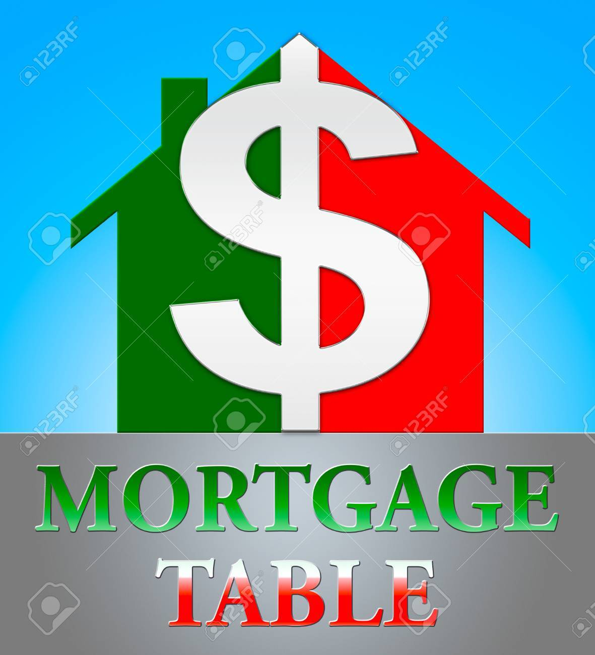 mortgage loan table