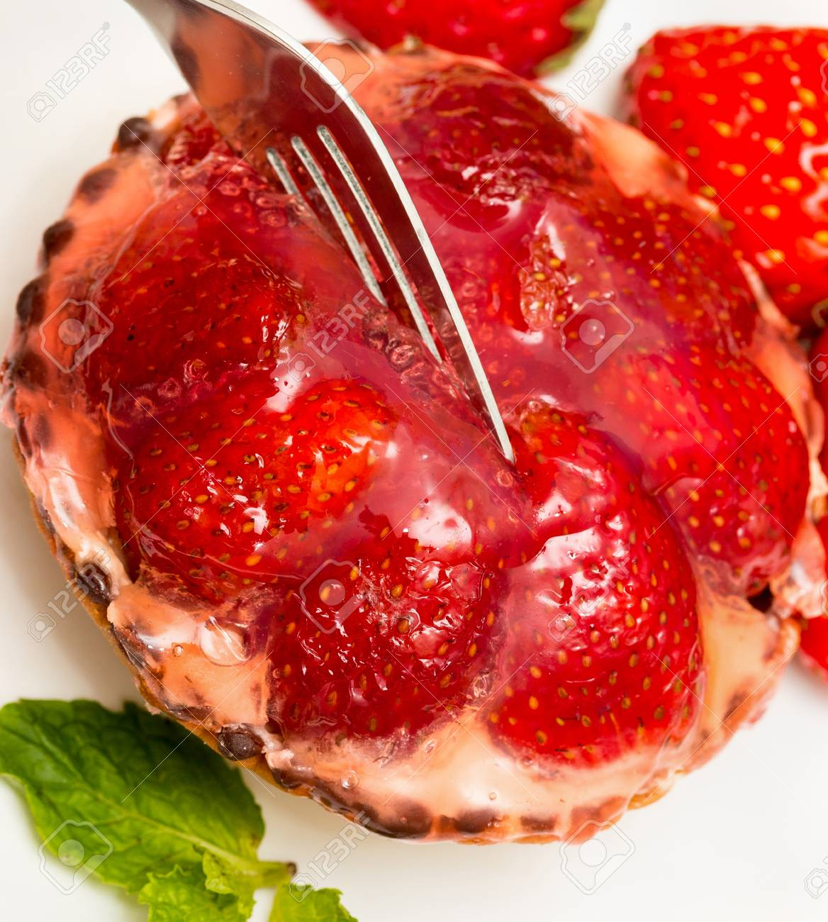 Strawberry Tart Meaning Fruit Pie And Baking