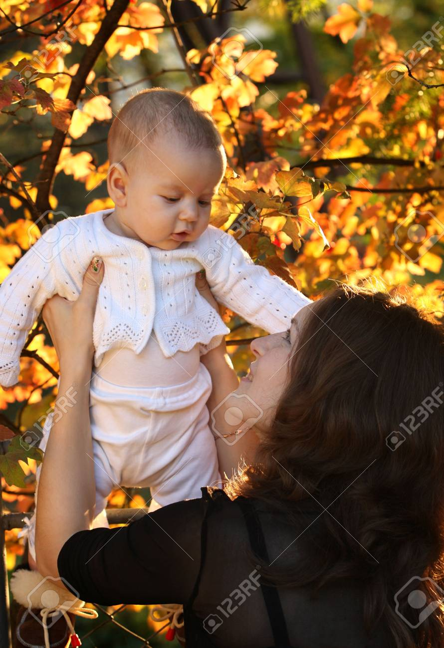 Mother and Baby Stock Photo - 3852398