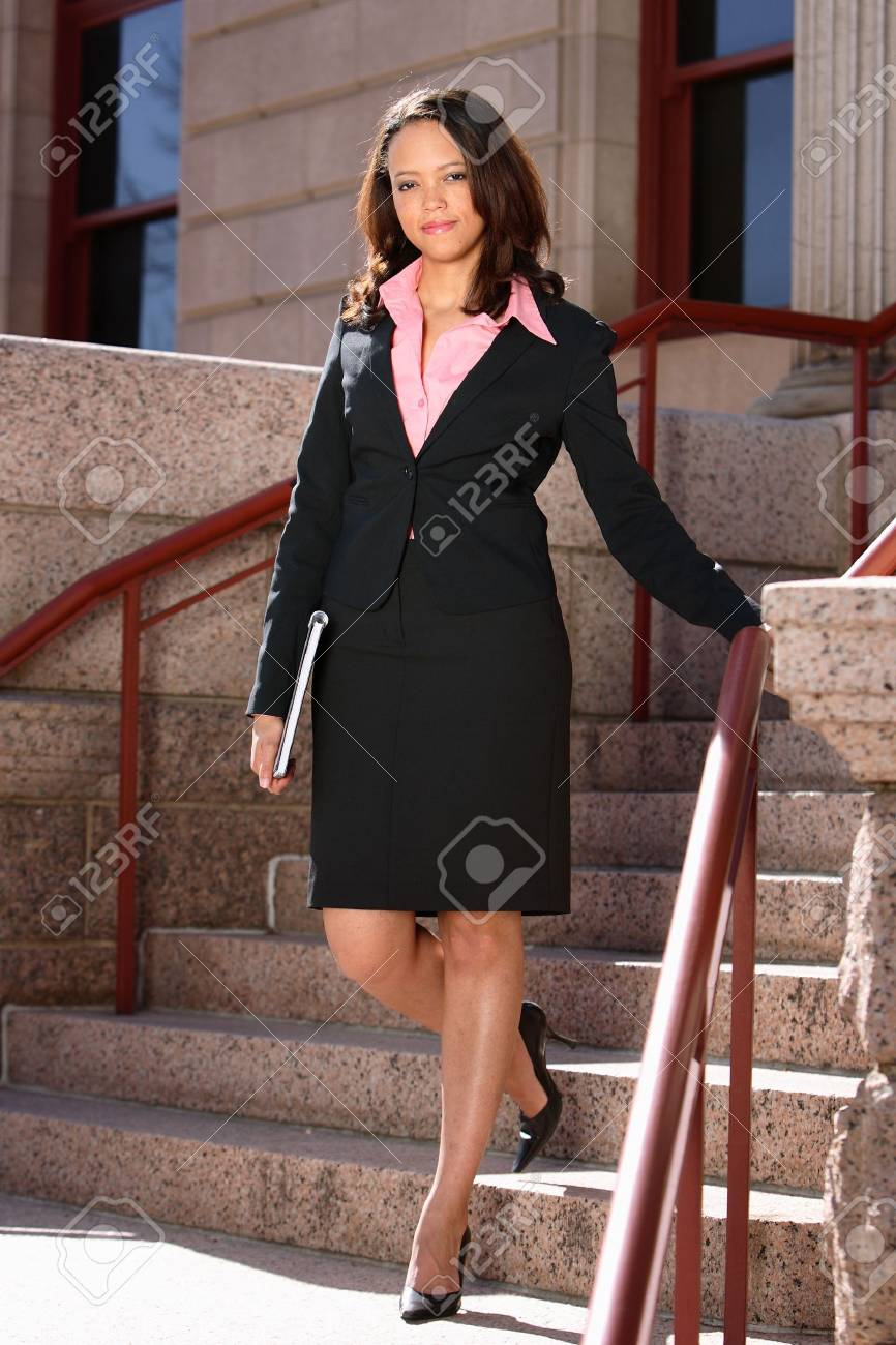 Professional African American Woman Stock Photo - 5314833