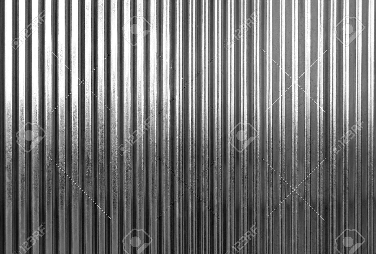 corrugated metal panel texture corrugated metal panel texture surface or galvanize steel background black and