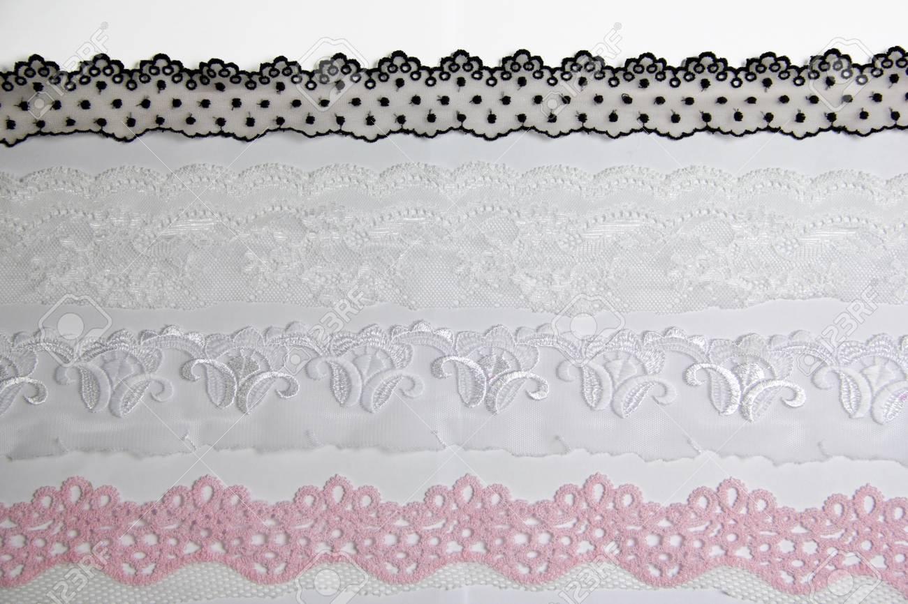 lacework line on white background Stock Photo - 14922564