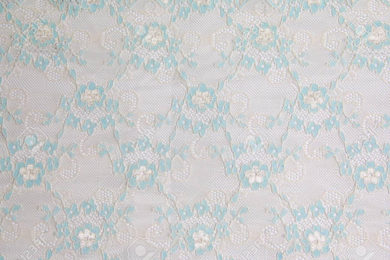 blue lacework line on white background Stock Photo - 14922476