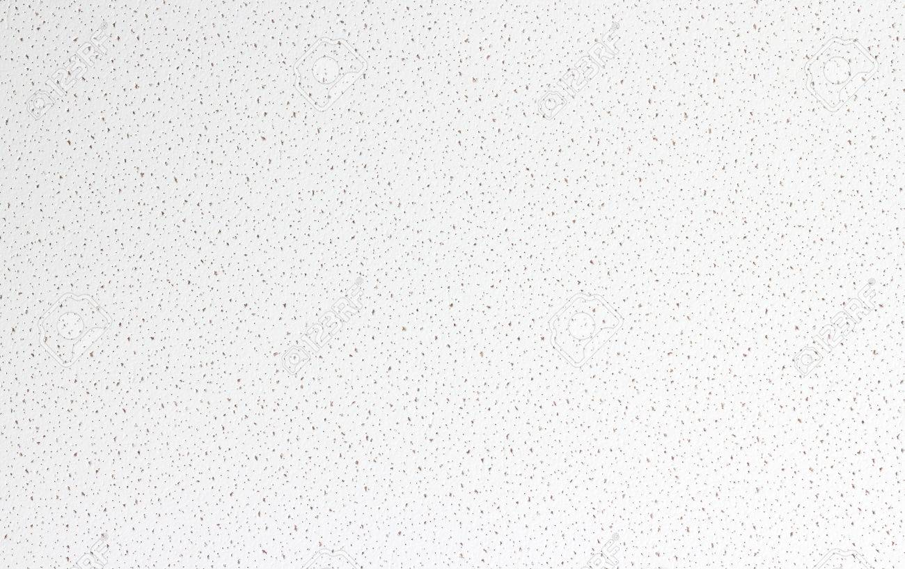 white cellulose ceiling tile background texture stock photo