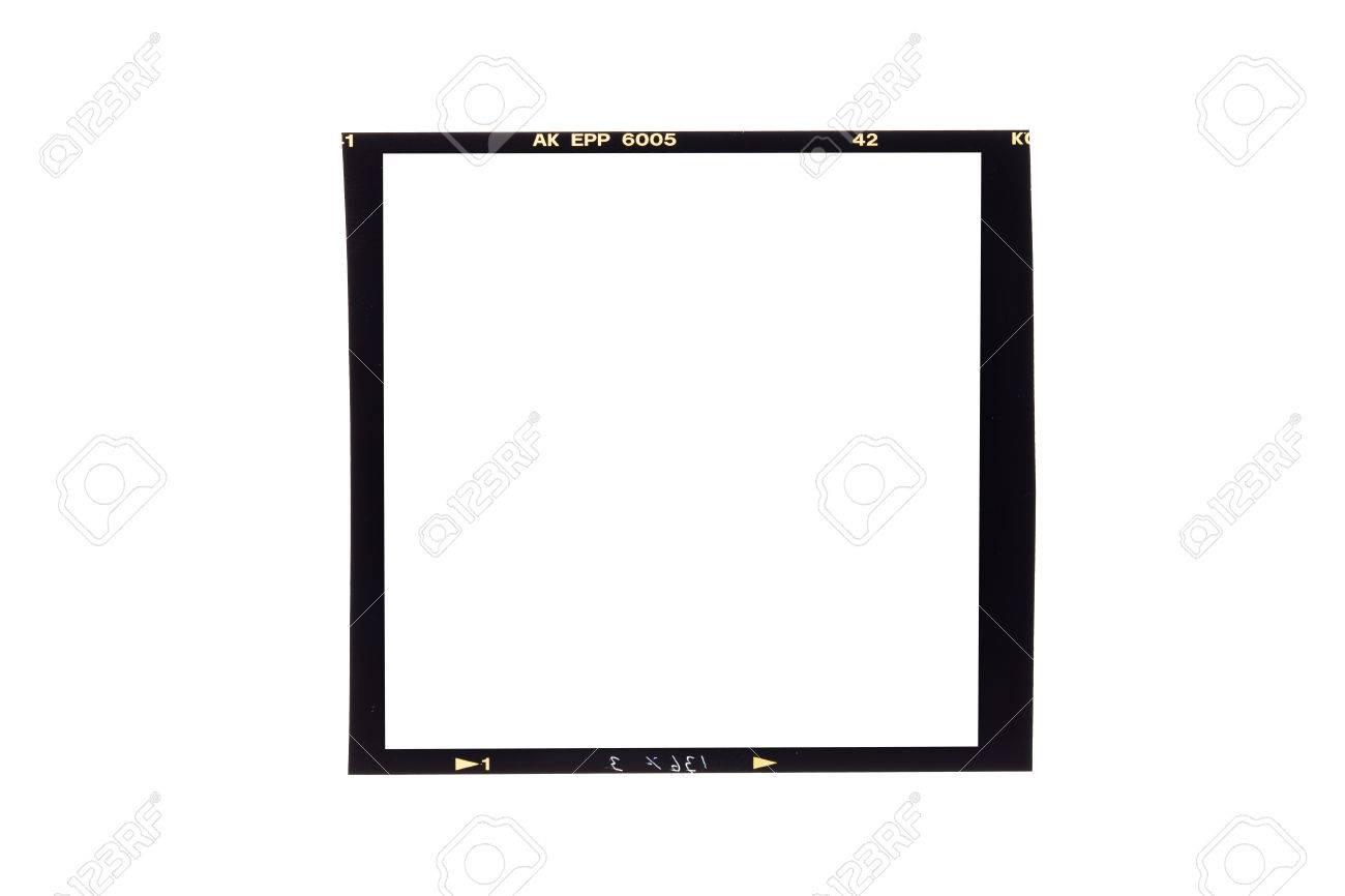 Film Borders, Blank Medium Format (6x6) Color Film Frame Stock Photo ...