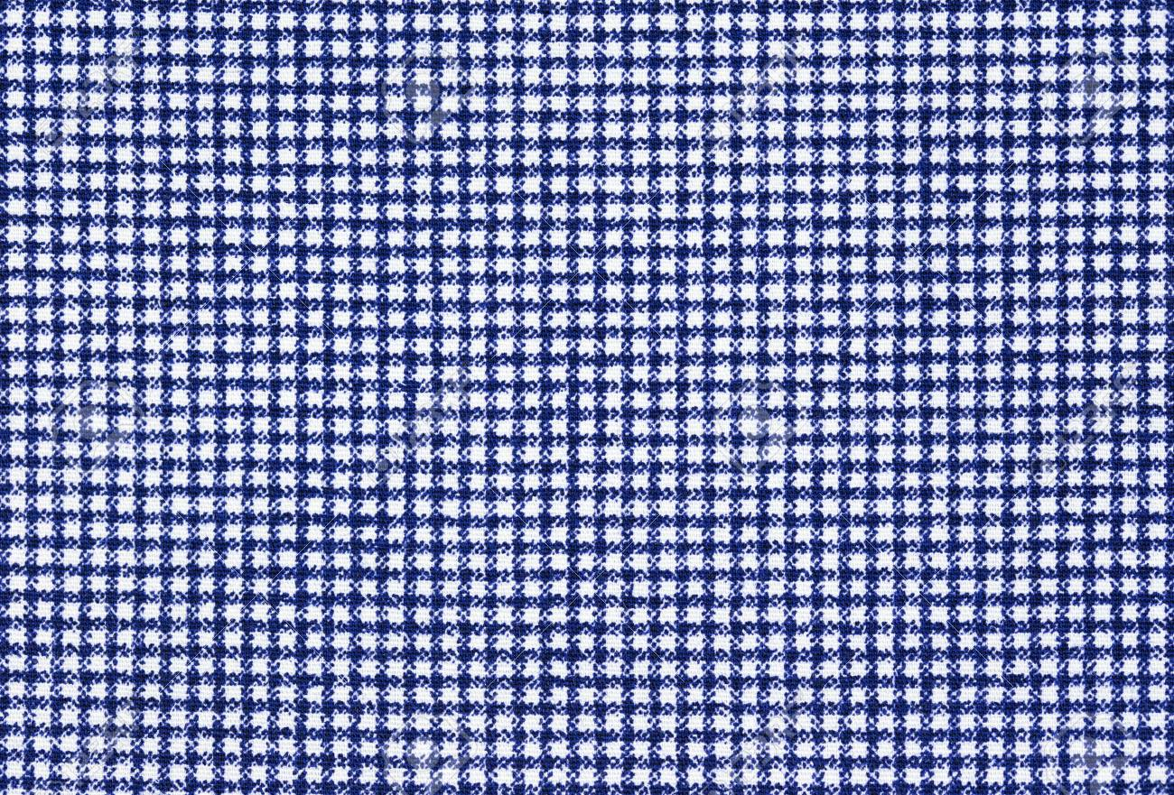 Blue And White Gingham Fabric Background Texture Stock Photo Picture And Royalty Free Image Image 58958462
