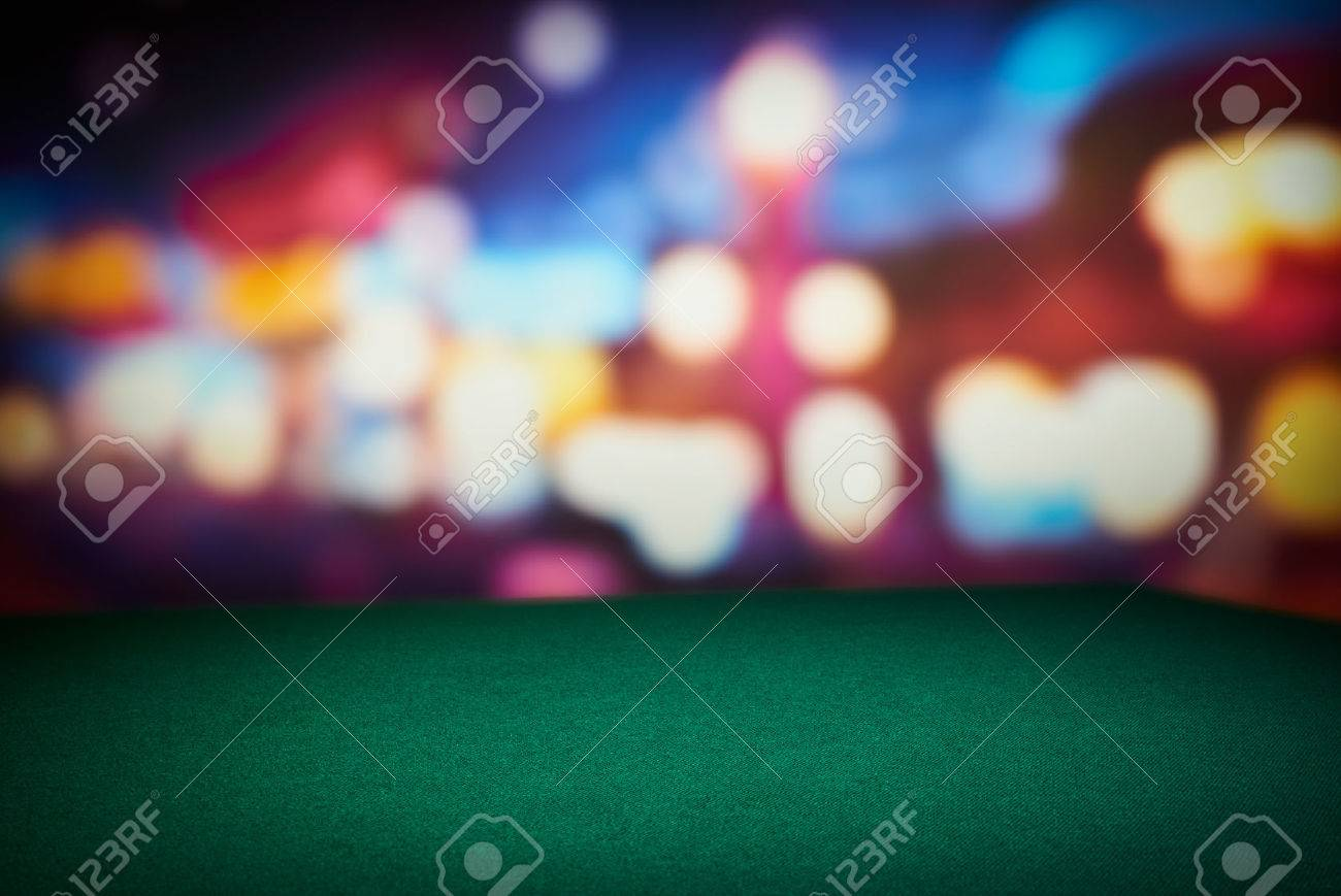 Poker Table Background Hd - Poker table poker green table in casino with blur background stock photo