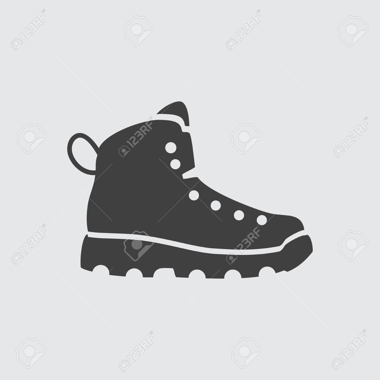 Boot icon illustration isolated vector sign symbol - 63203110