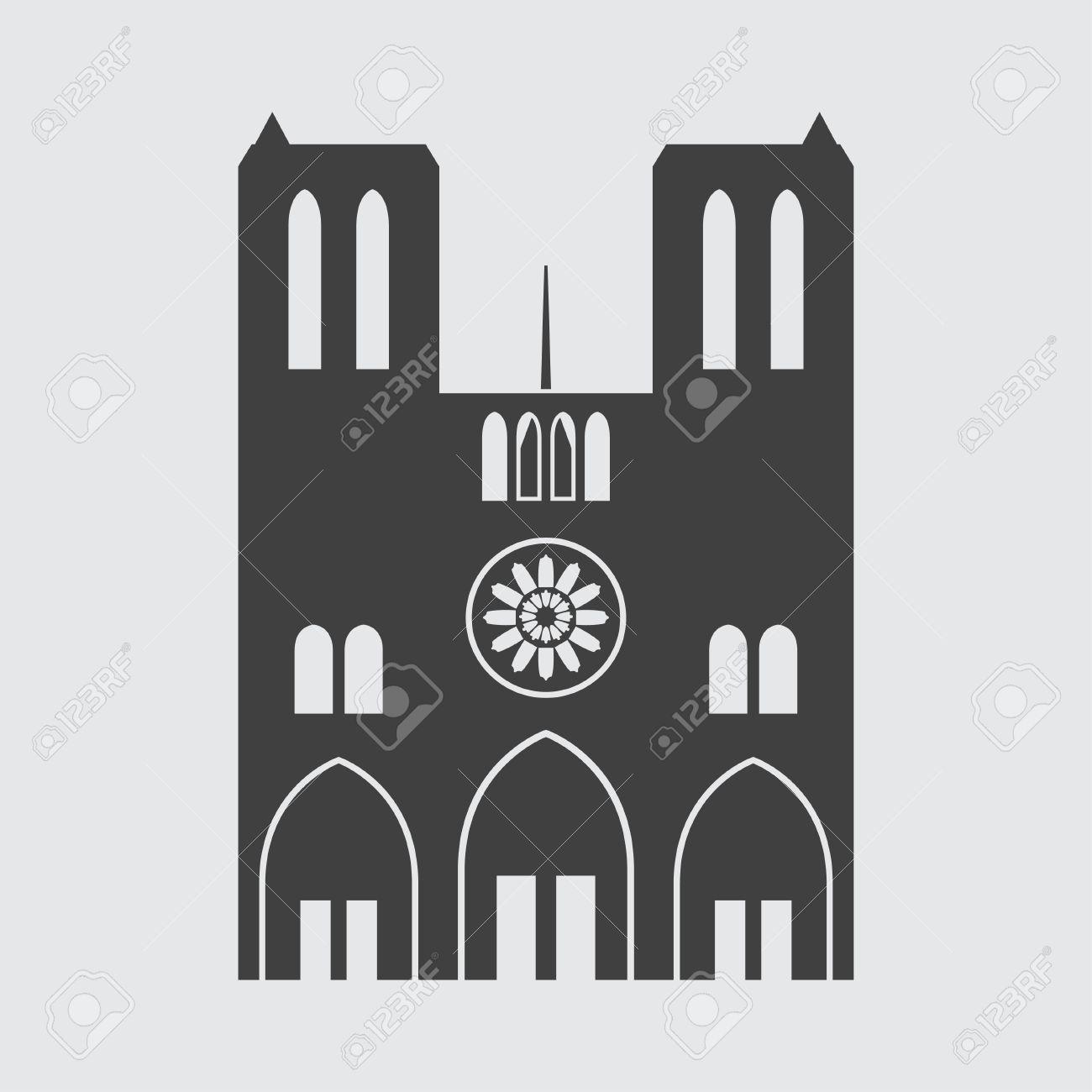 Notre dame de paris icon illustration isolated vector sign symbol notre dame de paris icon illustration isolated vector sign symbol stock vector 63572769 biocorpaavc