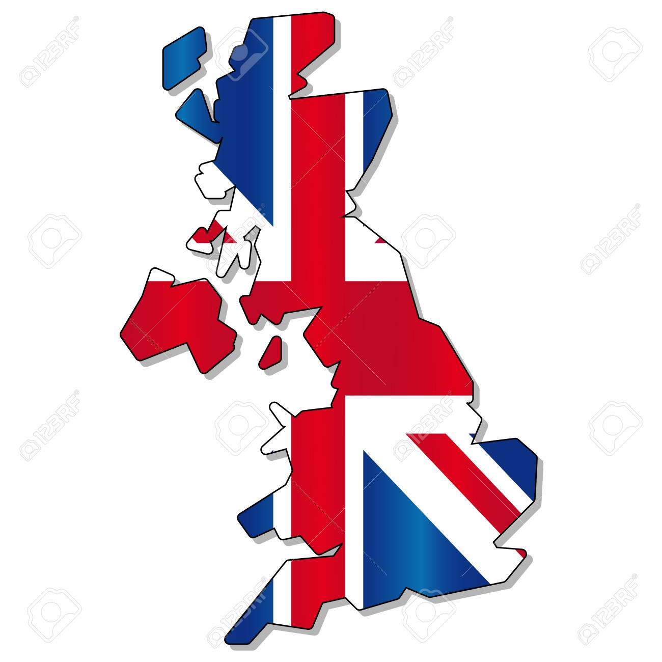 england flag map royalty free cliparts vectors and stock