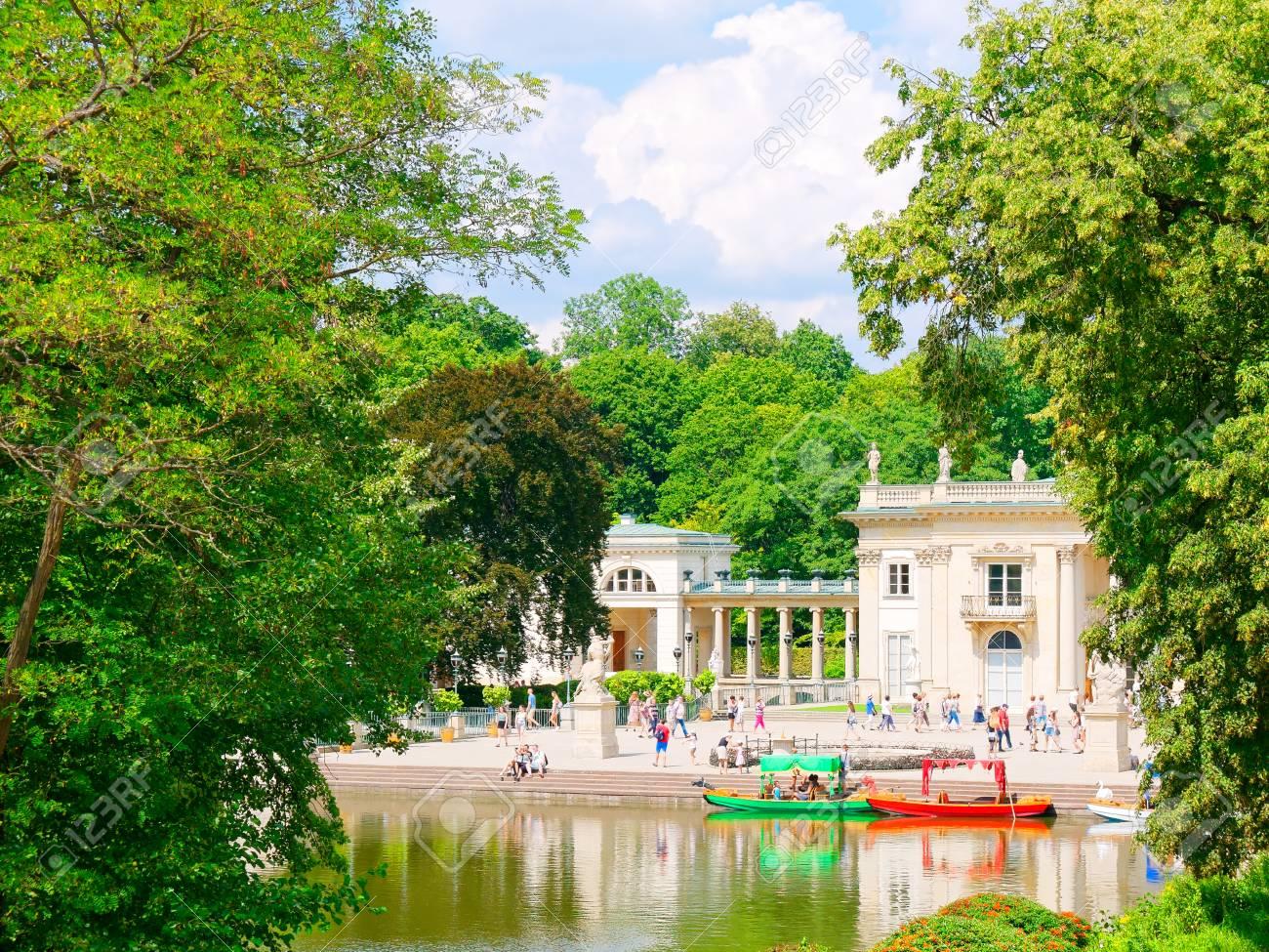Palace On The Isle The Royal Lazienki łazienki Park Warsaw