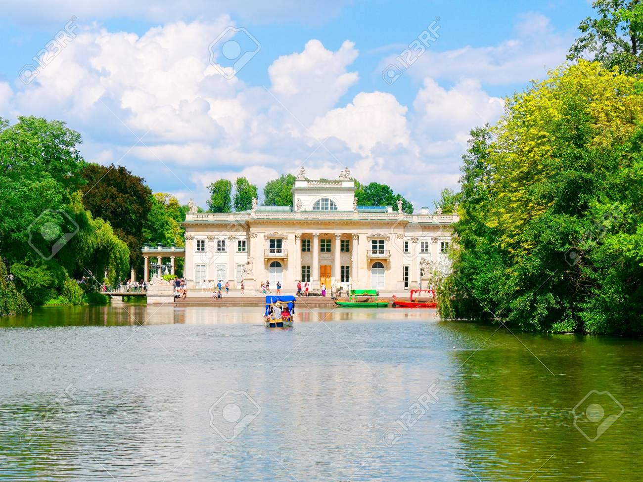 Palace On The Isle The Royal Lazienki Lazienki Park Warsaw