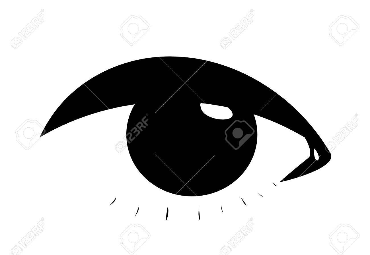 Symbolic woman eye Stock Vector - 8329496