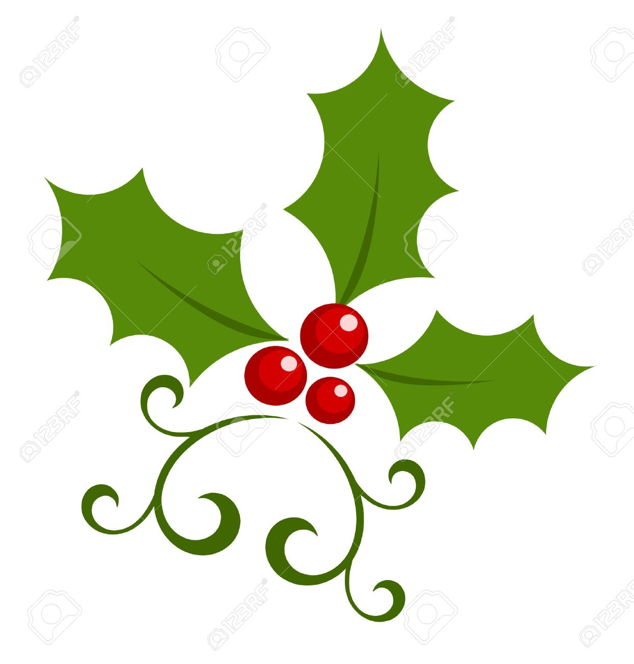 christmas holly berry symbol royalty free cliparts vectors and rh 123rf com christmas holly berry clipart holly berry clipart border