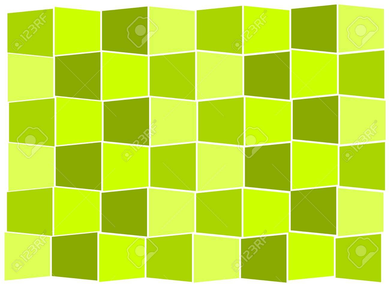 Green tiles kitchen texture - Background Green Tiles Forming In Stairs Stock Vector 9584345