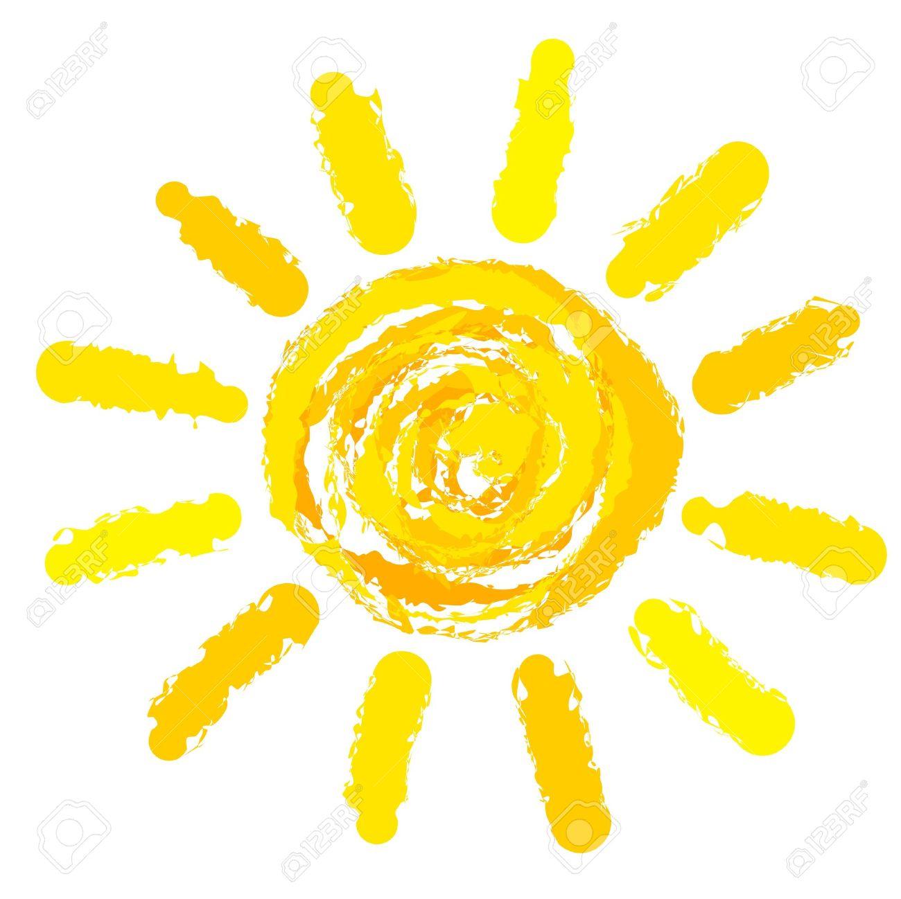 dibujo de sol ilustración vectorial ilustraciones vectoriales clip