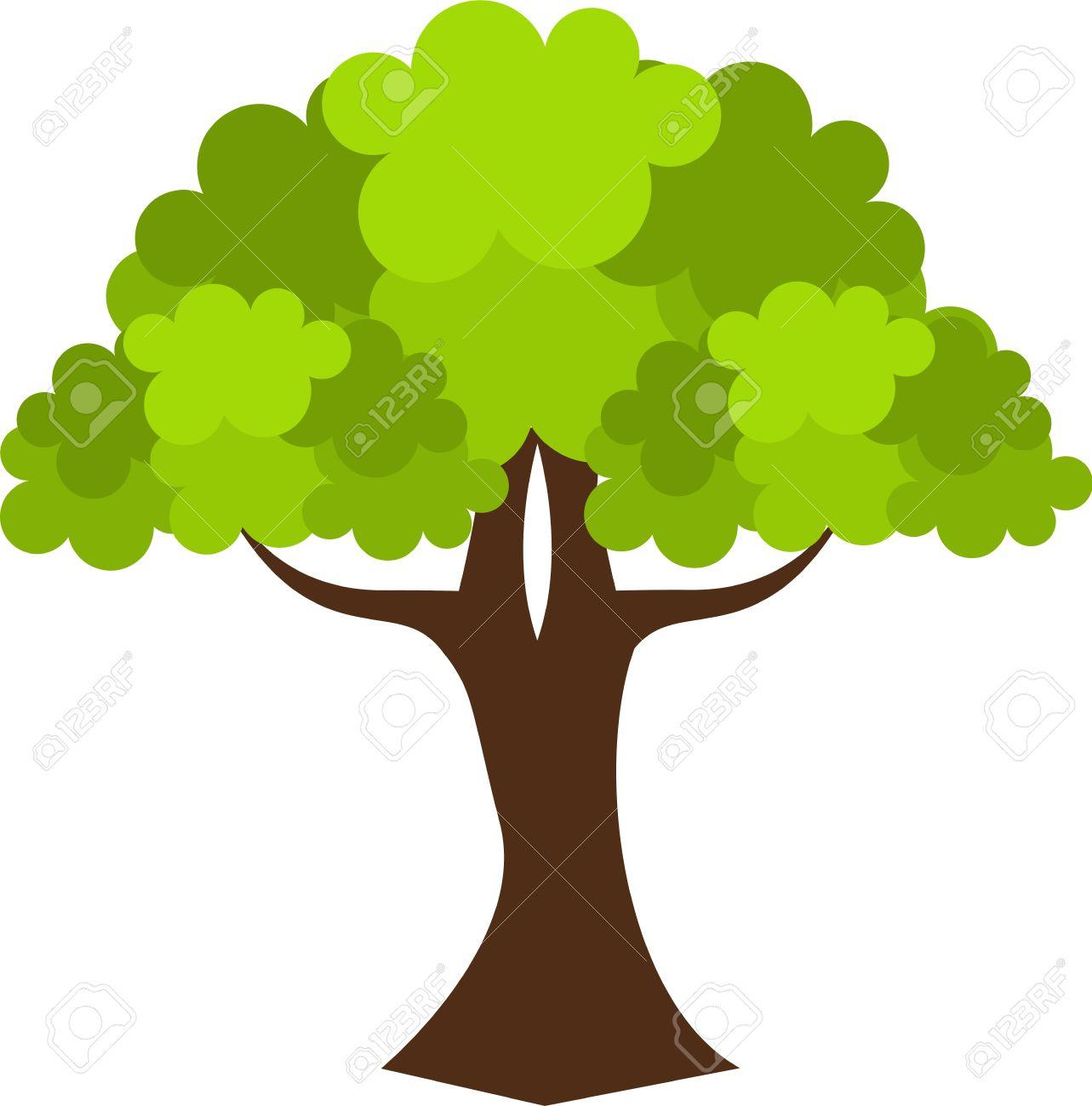 old oak tree vector illustration royalty free cliparts vectors rh 123rf com oak tree vector silhouette oak tree vector silhouette free