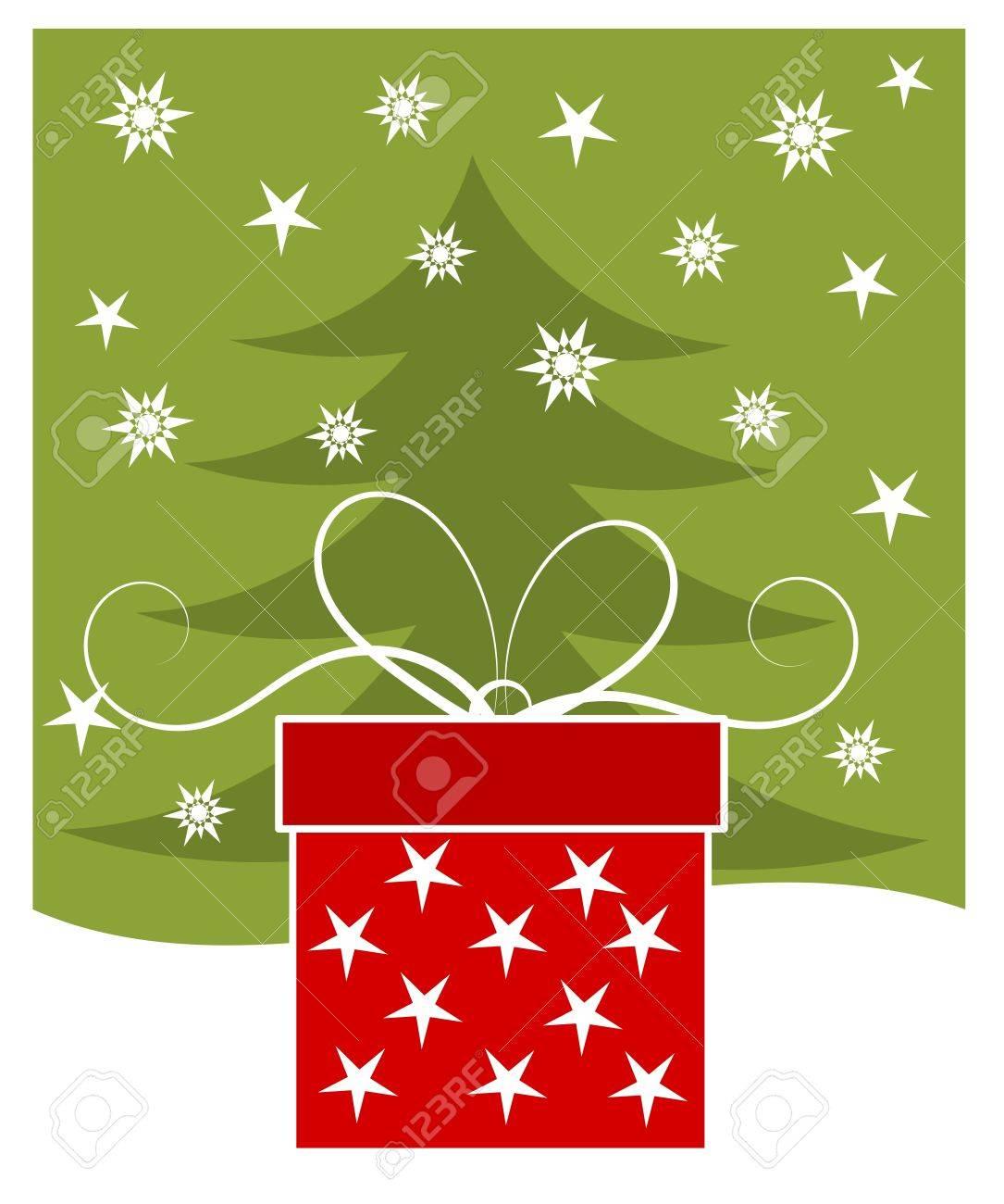 Christmas gift - holiday card - 16942819