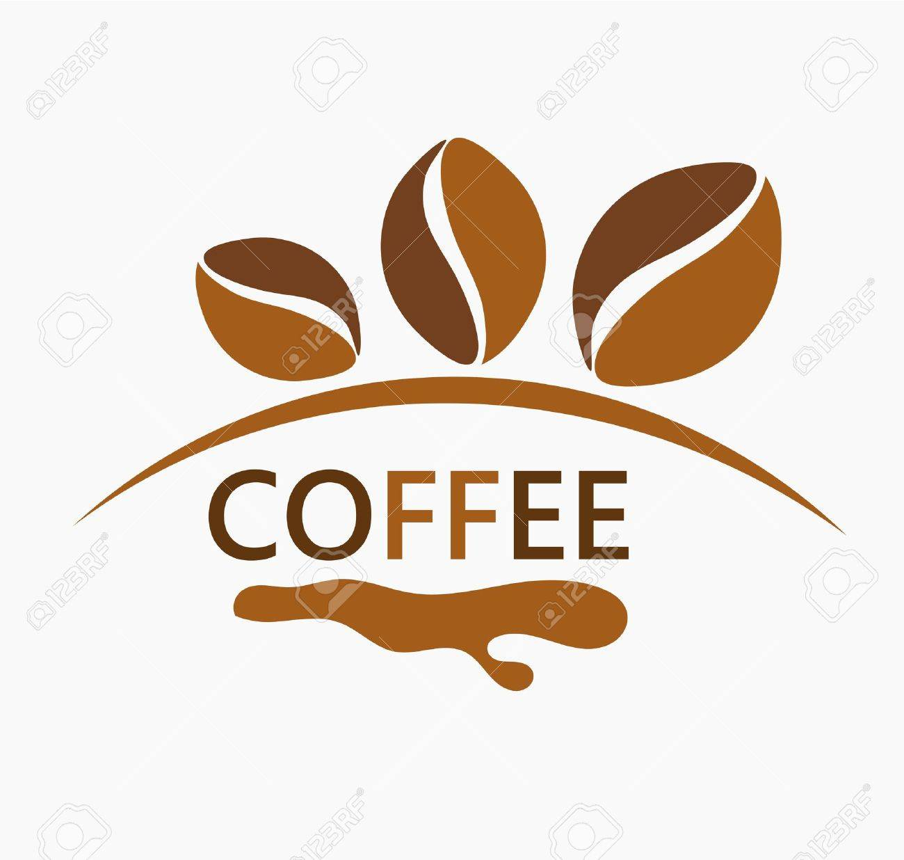 Coffee beans design illustration Stock Vector - 19905721