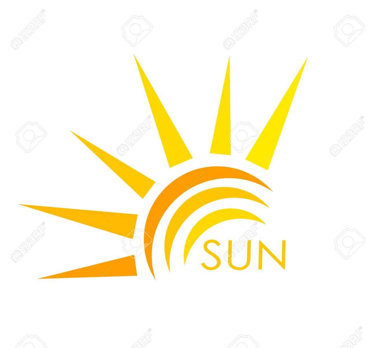 Sun symbol. Abstract vector illustration - 21947494