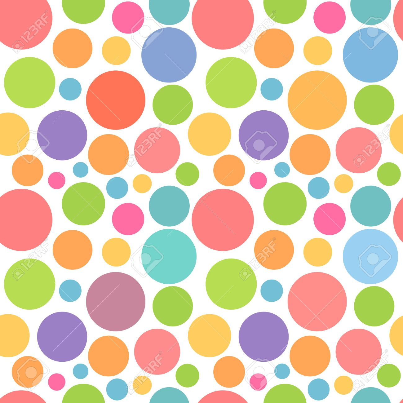 Colorful dots pattern. Vector illustration - 56477188