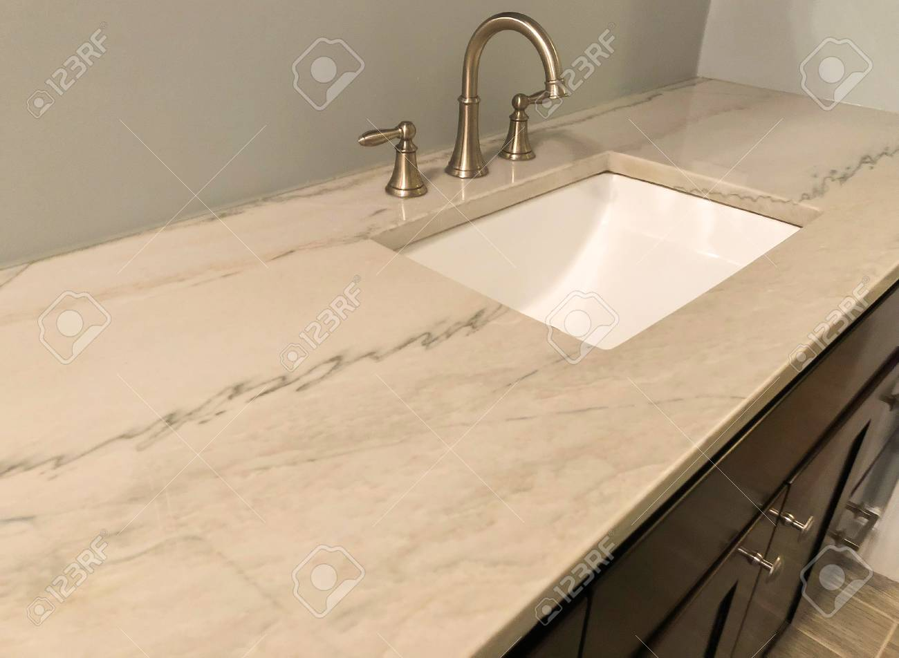 Bathroom Granite Counter Top Stock Photo Picture And Royalty Free Image Image 125498650