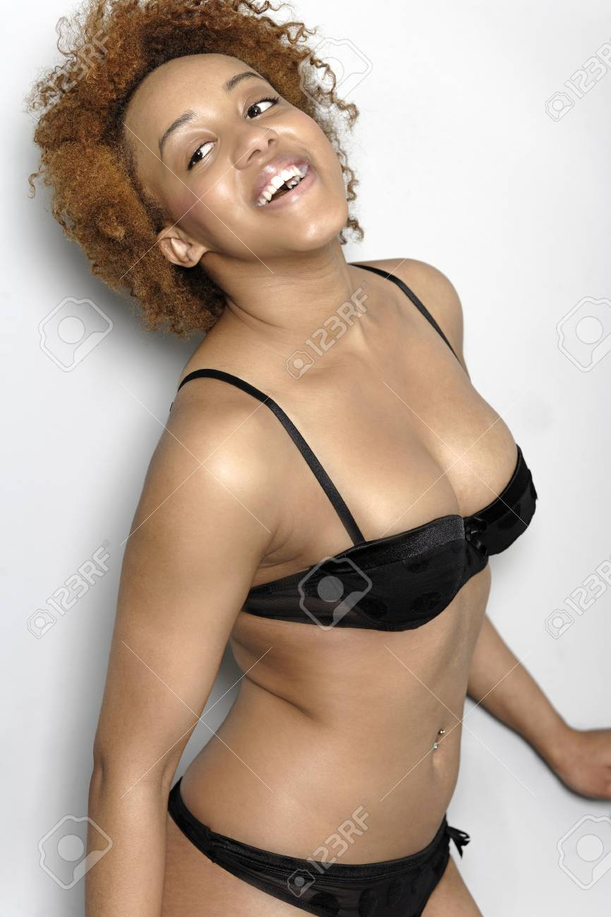 Sexy black young women
