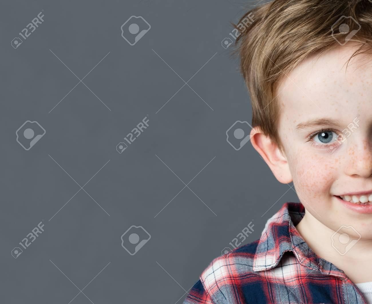 Cheveux gris a 5 ans